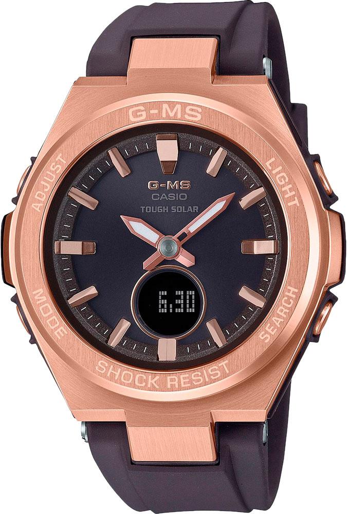 Женские часы Casio MSG-S200G-5AER наручные часы casio msg s200g 5a