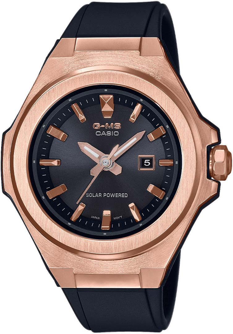 Женские часы Casio MSG-S500G-1AER женские часы casio ba 130 1aer