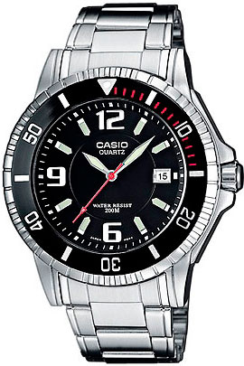 Мужские часы Casio MTD-1053D-1A часы casio collection mtd 1053d 1a silver