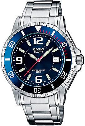 Мужские часы Casio MTD-1053D-2A наручные часы casio mtd 1053d 2a