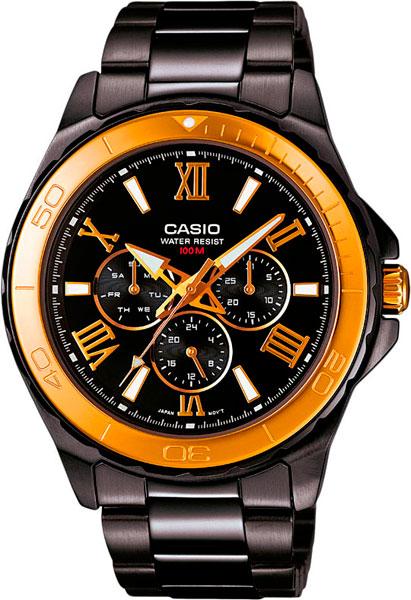 где купить Мужские часы Casio MTD-1075BK-1A9 по лучшей цене