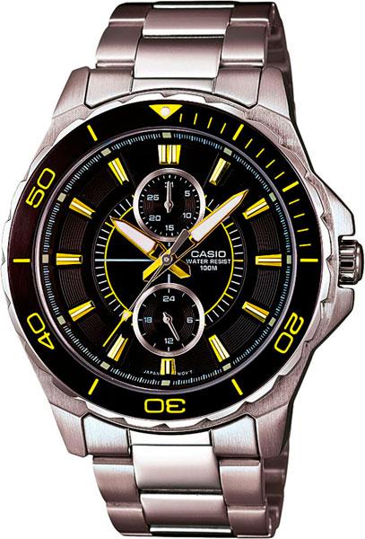 Мужские часы Casio MTD-1077D-1A2 casio часы casio mtd 1077d 1a2 коллекция analog