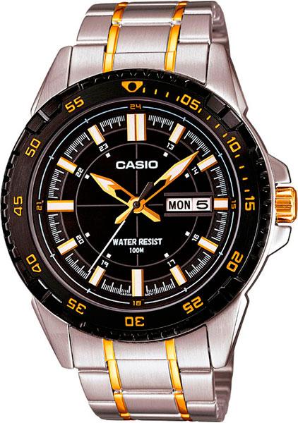Мужские часы Casio MTD-1078SG-1A