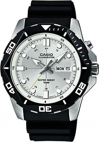 Мужские часы Casio MTD-1080-7A casio sheen multi hand shn 3013d 7a