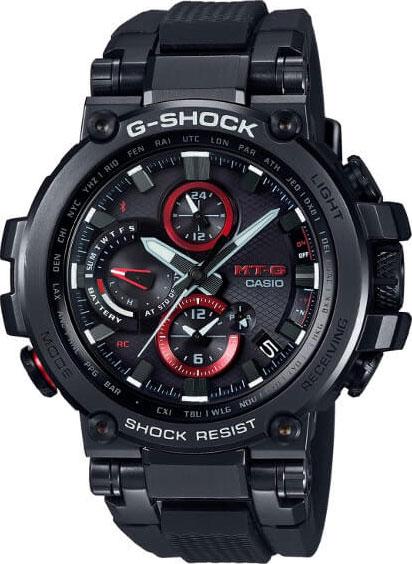 Мужские часы Casio MTG-B1000B-1A толстовка lacoste sh8600 mtg 2015 sh8600 mtg i1