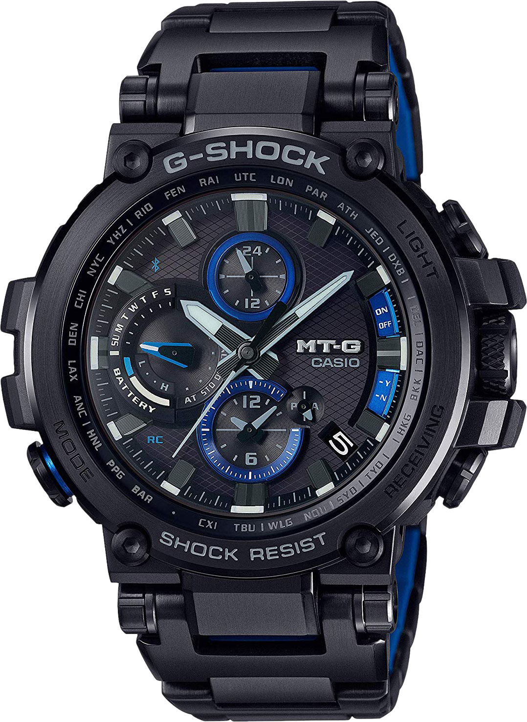 Мужские часы Casio MTG-B1000BD-1A толстовка lacoste sh8600 mtg 2015 sh8600 mtg i1