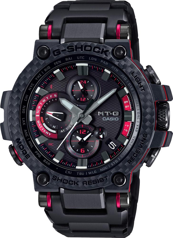 Японские мужские часы в коллекции G-SHOCK Мужские часы Casio MTG-B1000XBD-1AER фото