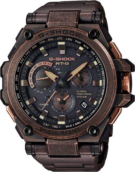 Мужские часы Casio MTG-G1000AR-1A casio g shock g classic ga 110mb 1a