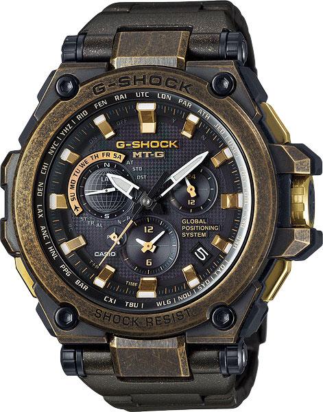 Мужские часы Casio MTG-G1000BS-1A мужские часы casio mtg g1000rs 1a