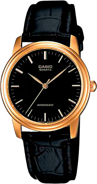 Мужские часы Casio MTP-1154PQ-1A часы casio collection mtp 1154pq 1a black gold