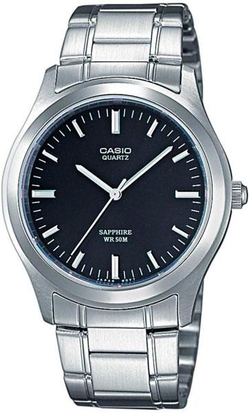 Мужские часы Casio MTP-1200A-1A casio casio mtp 1200a 2a