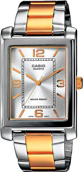 Мужские часы Casio MTP-1234PSG-7A casio sheen multi hand shn 3013d 7a