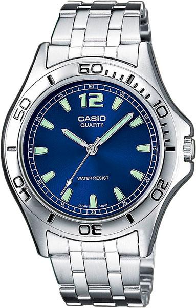 Мужские часы Casio MTP-1258PD-2A casio casio mtp e307d 2a