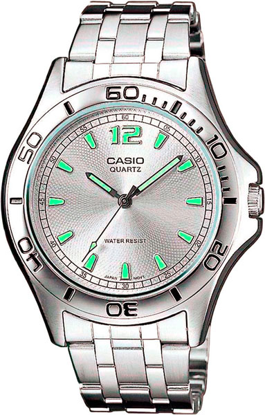 Мужские часы Casio MTP-1258PD-7A casio sheen multi hand shn 3013d 7a
