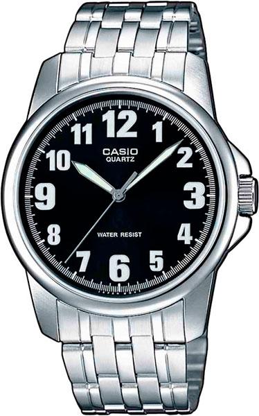 Мужские часы Casio MTP-1260PD-1B часы casio mtp s101l 1b