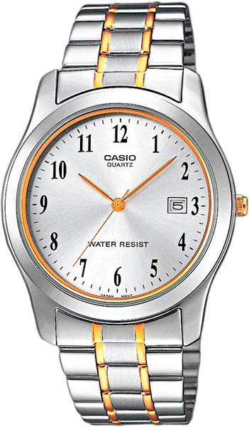 Мужские часы Casio MTP-1264PG-7B цена и фото