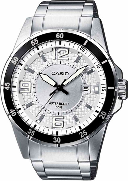 Мужские часы Casio MTP-1291D-7A casio sheen multi hand shn 3013d 7a