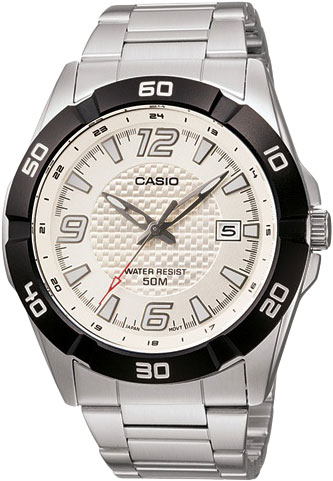 Мужские часы Casio MTP-1292D-7A casio sheen multi hand shn 3013d 7a