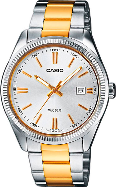 Мужские часы Casio MTP-1302PSG-7A casio mtp 1302psg 7a