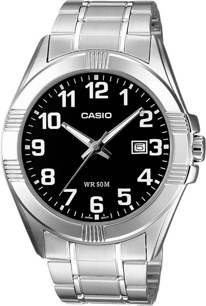 Мужские часы Casio MTP-1308PD-1B casio mtp v002g 1b