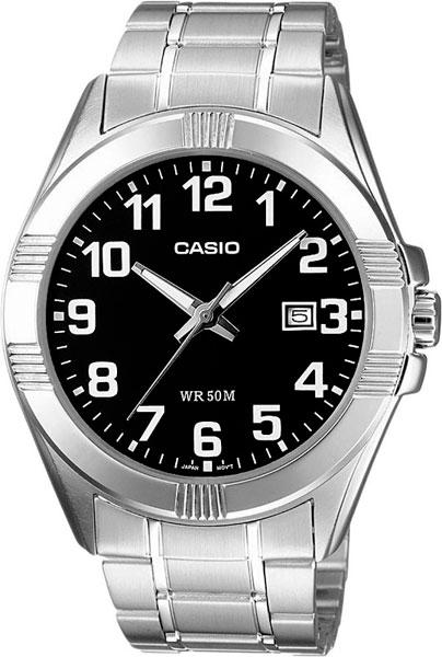 Мужские часы Casio MTP-1308PD-1B часы casio mtp s101l 1b
