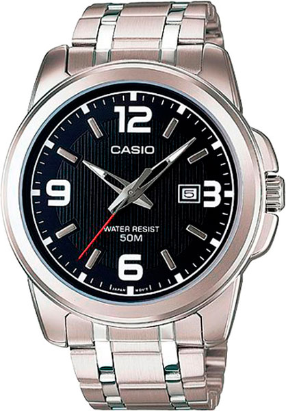 цена Мужские часы Casio MTP-1314PD-1A онлайн в 2017 году