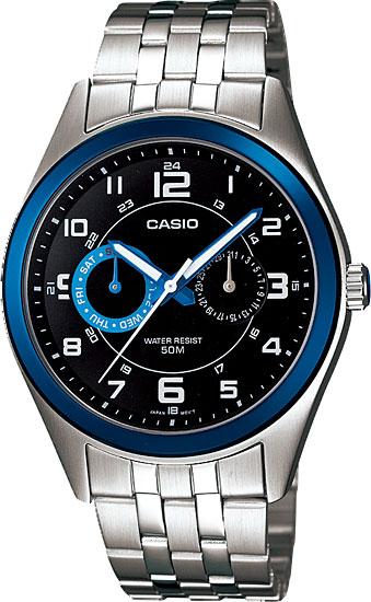 Мужские часы Casio MTP-1353D-1B1 часы casio mtp 1377l 5a