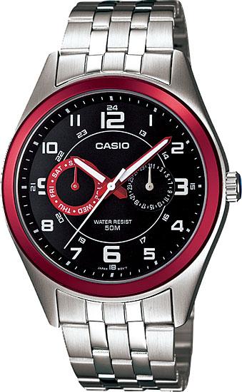 Мужские часы Casio MTP-1353D-1B2 часы casio mtp 1377l 5a