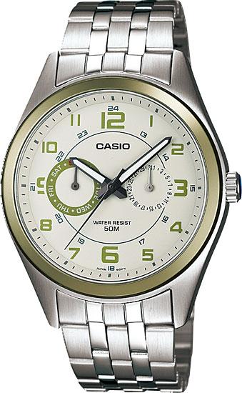 Мужские часы Casio MTP-1353D-8B2 часы casio mtp 1377l 5a