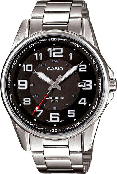 Мужские часы Casio MTP-1372D-1B casio часы casio mtp 1372d 1b коллекция analog