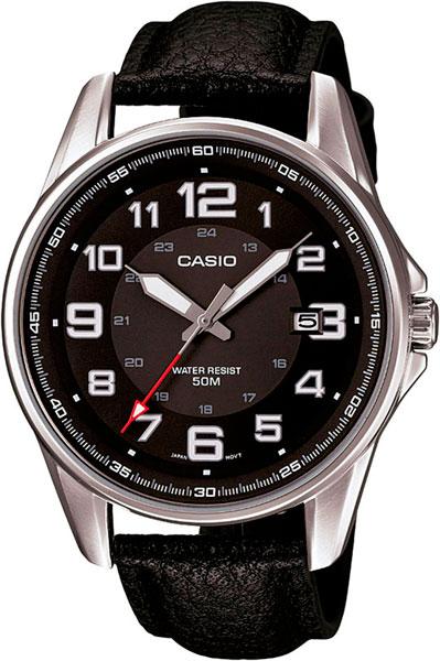 Мужские часы Casio MTP-1372L-1B часы casio mtp s101l 1b