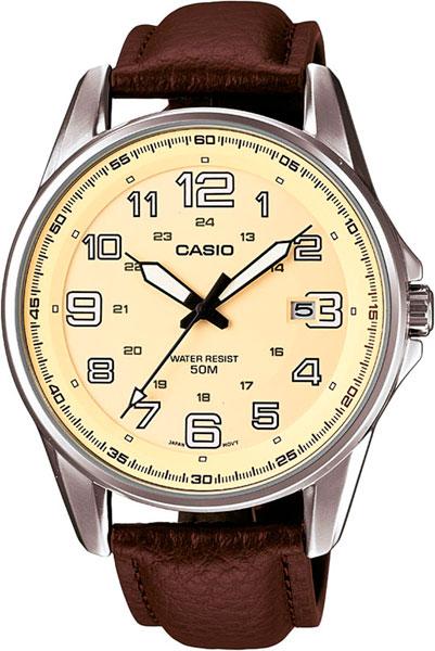 Мужские часы Casio MTP-1372L-9B часы casio mtp 1377l 5a