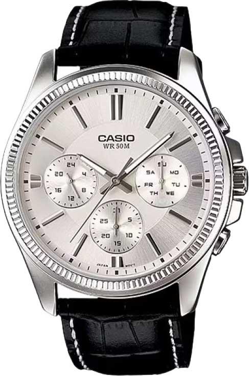 цена  Мужские часы Casio MTP-1375L-7A  онлайн в 2017 году