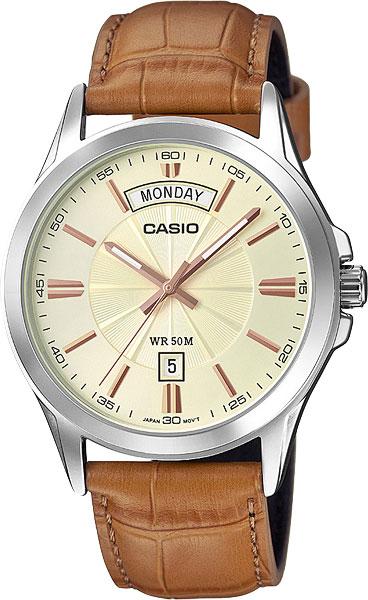 Мужские часы Casio MTP-1381L-9A часы casio mtp 1374d 5a