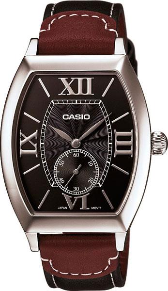 цена Мужские часы Casio MTP-E114L-1A онлайн в 2017 году