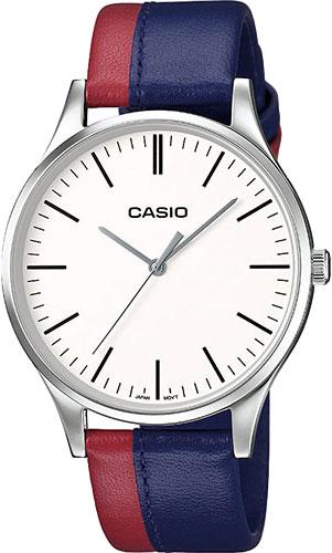 цена Мужские часы Casio MTP-E133L-2E онлайн в 2017 году