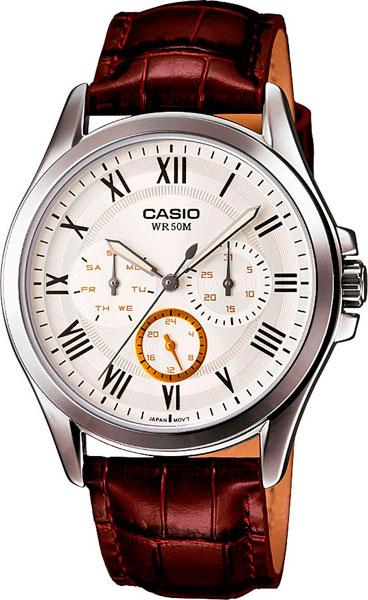 Мужские часы Casio MTP-E301L-7B casio casio mtp e301l 7b standard analog
