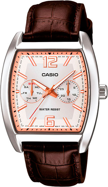 Мужские часы Casio MTP-E302L-7A casio watch men s business casual waterproof watch mtp 1383d 7a mtp 1384d 1a mtp 1384d 7a mtp 1384l 1a mtp 1384l 7a