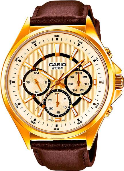 Мужские часы Casio MTP-E303GL-9A часы casio mtp 1374d 5a