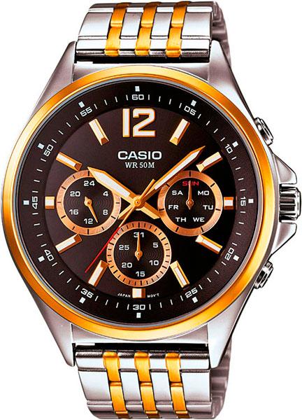 Мужские часы Casio MTP-E303SG-1A часы casio mtp 1374d 5a