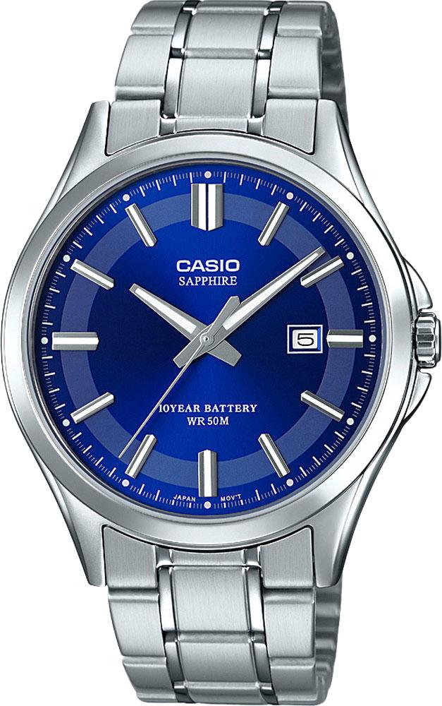 Японские мужские часы в коллекции Collection Мужские часы Casio MTS-100D-2AVEF фото