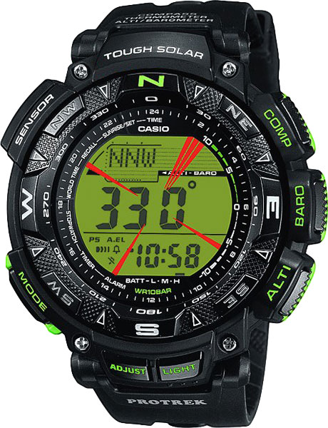 Мужские часы Casio PRG-240-1B �������� casio protrek