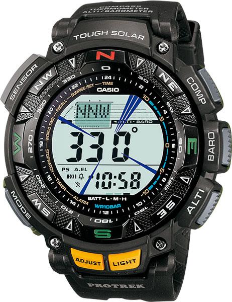 Мужские часы Casio PRG-240-1D �������� casio protrek