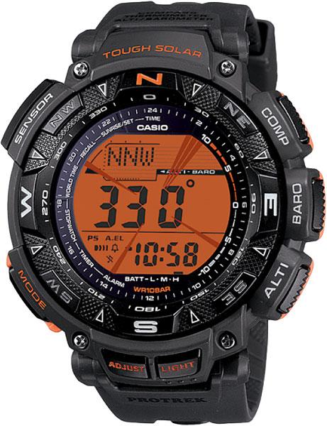 Мужские часы Casio PRG-240-8E �������� casio protrek