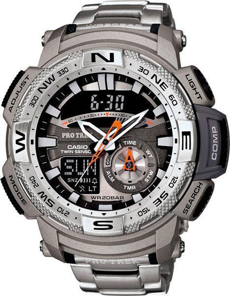 Мужские часы Casio PRG-280D-7E casio casio prg 240t 7e