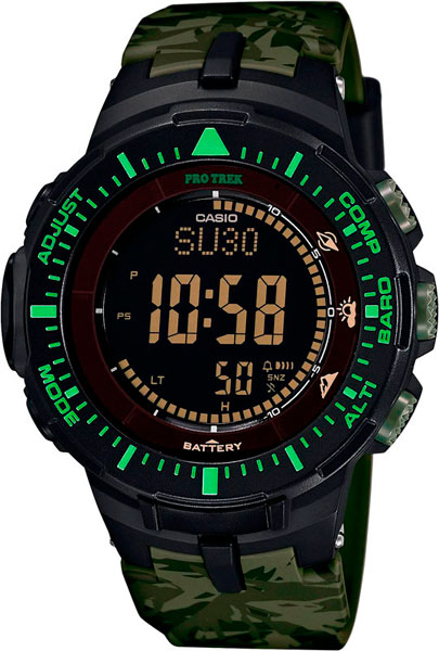 Мужские часы Casio PRG-300CM-3E