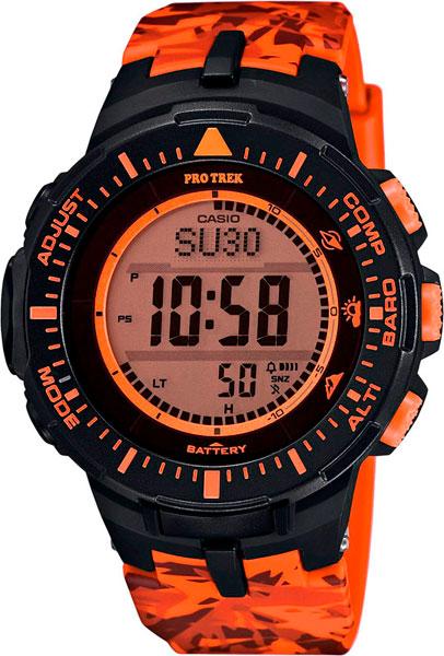 Мужские часы Casio PRG-300CM-4E casio prg 300cm 4e casio