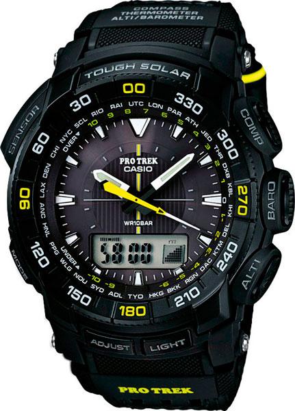 Мужские часы Casio PRG-550G-1D casio casio prg 550 1a4
