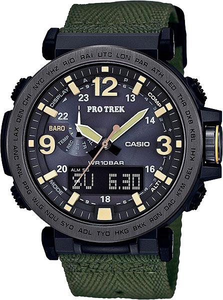Мужские часы Casio PRG-600YB-3E casio prg 650ybe 3e