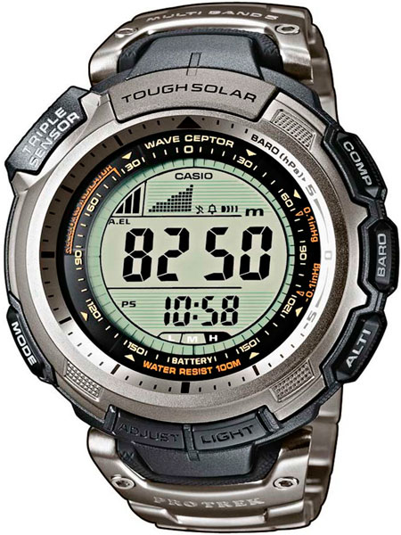 Мужские часы Casio PRW-1300T-7V casio prw 3500 1e